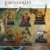 SPELLCROW BITS Emissaries of Tykatrion 6 Resin Miniatures 28mm COMPATIBLE PDT