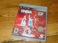 PS3 NBA 2K13 (New Factory Sealed!)