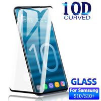 2x Samsung Galaxy S10 S10E S10 Plus Full Cover Tempered Glass Screen Protector