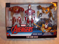 Marvel Avengers Iron Man Titan Hero Series Combat Gear Toy Hasbro Action Figure