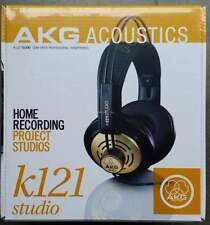 AKG K121 Studio Headphone Monitor Dynamics Open - New with Italian Warranty