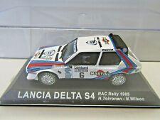IXO Altaya 1:43 Scale Diecast Lancia Delta S4 RAC Rally 1985 Toivonen / Wilson