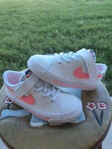 "Nike Court Legacy ""Sunset Pulse"" Girls' BRAND NEW Toddler 10C"