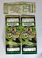 Vintage 2003 Celtic Tickets Playoff May & Ticket Game April Philadelphia