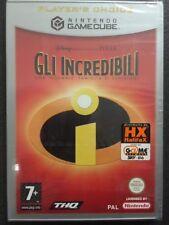"""Nintendo GameCube Cube WII Gli Incredibili - Una """"normale"""" famiglia di supereroi"""