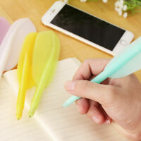 4PCS Cute Wing Feather Ballpoint Ink Pens Creative Stationery Student Gift Kids