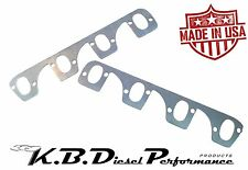 """3/8"""" Stainless Exhaust Manifold Header Flange Spacer 6.5L 6.2L Turbo Diesel"""