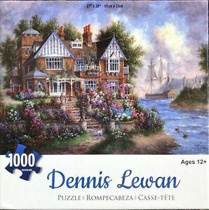 1000 Piece Jigsaw Puzzle Dennis Lewan 69 x 51cm Riverview House River Landscape