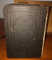 RARE La Sainte Bible Ou L'ancien Et La Nouveau Testament - J.F. Ostervald 1881