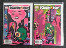 Wolverine / Doop Nr. 1+2 - Marvel Comics USA - Zustand 1-2