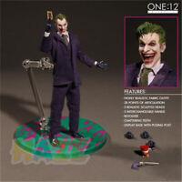 Batman The Dark Knight Joker Figure Model With Real Clothing 15cm