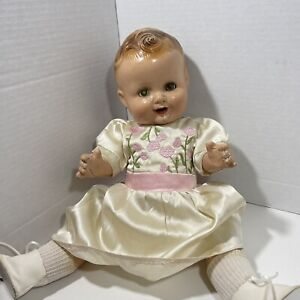 1930's Vintage Freundlich Baby Sandy German Compo Doll Shirley Temple Compete...