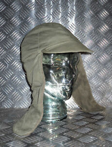 Genuine Dutch Army Green Dog Hat / Trapper Hat with Ear Warmers - All sizes NEW