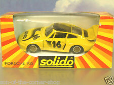 1980's SOLIDO métal 1/43 PORSCHE 935 Turbo J.DAVID #16 fabriqué en France #1332