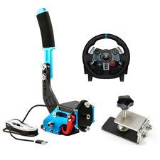 Professional Gaming Devices for Racing Games Easy to Connect HOMYY Set Handbrake USB Handbrake per PC Handbrake per Racing Games and Simulator for Windows System