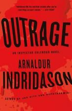 An Inspector Erlendur: Outrage 7 by Arnaldur Indriðason (2012, Hardcover)