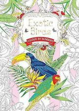 Exotic Birds (Colouring Book, by Numbers): Colour by Numbers by Flame Tree Publishing (Paperback, 2016)