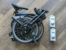 ELECTRIC BROMPTON FOLDING E-BIKE M2L BLACK - NEW