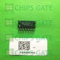 2PCS TDA8563AQ Encapsulation:ZIP-13,2 x 40 W/2 ohm stereo BTL car radio powe