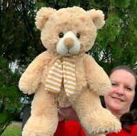 """MS Teddy Bear Inc Lovey 16"""" Soft Plush Stuffed Animal Toy"""