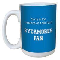 Tree-Free Greetings lm44459 Sycamores College Football Fan Ceramic Mug