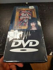 ELVIRA Elvira's Box Of Horror (3 DVD)  Box Set Closed-captioned Color Mint NEW