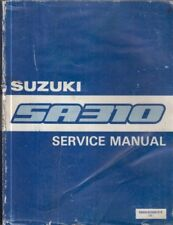 SUZUKI SA310 SWIFT MK1 ORIGINAL 1983 FACTORY WORKSHOP MANUAL