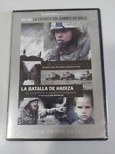 LA BATALLA DE HADIZA BROOMFIELD DVD SLIM + EXTRAS ESPAÑOL ENGLISH ARABE NUEVA
