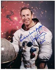 NASA Apollo 13 Astronaut James Lovell Signed Portrait Photo