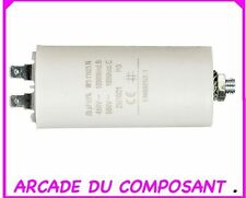 1 CONDO CONDENSATEUR PERMANENT POUR  DEMARRAGE MOTEUR 450V 25MF (ref 42-5094)