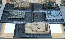 Deagostini Diecast Combat Tanks Collection 1:72. Scale
