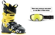 Rossignol AllSpeed 120 ski boots 27.5 (incl GOGGLES at BIN price) NEW 2019