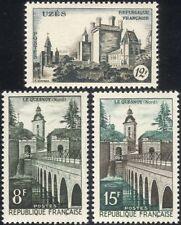 France 1957 Uzes Chateau/Bridge, Le Quesnoy/Buildings/Architecture 1v (n45280)