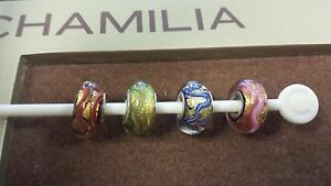 Authentic Chamilia Dream Collection Murano Glass Charms Available In All Colors