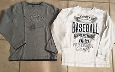 Lot 2 Tee-shirts Manches Longues Gap Pepe Jeans 10 12 Ans