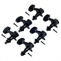 6R Guitar Locking Tuners Pegs Tuning Keys Machine Heads for Fender ST TL Black
