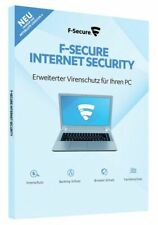 F-SECURE INTERNET SECURITY 1 PC o PC 3/1 anno ESD download licenza