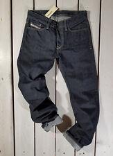 RRP $160 NEW DIESEL MEN'S JEANS W36 L32 VIKER 0088Z REGULAR STRAIGHT BLUE