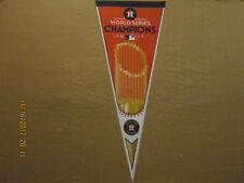 MLB Houston Astros 2017 World Series Champions Trophy Logo Baseball Pennant