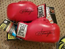 Joe Frazier Signed Boxing Gloves