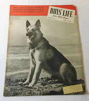 March 1945 BOYS LIFE ~ Caesar Dog Hero of First US Marine Corps; German Shepherd