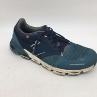 On Cloud Womens Running Shoes Blue Low Top Lace Up Sneakers 7.5 M EUR 38.5