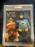 Burt Ward Signed 8x10 Photo PSA/DNA Certified and SLABBED