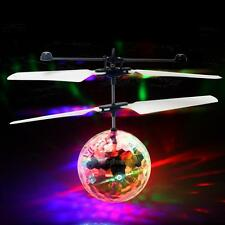 Durable Flying RC Ball Led Flashing Light Aircraft Helicopter Induction Toy
