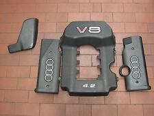 Audi S6 Plus Q1 Abdeckung Verkleidung Motor Motorabdeckung komplett 4-teilig S8