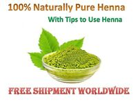 Pure Natural Indian Henna Mehndi Powder Hair Dye Color + FREEEEE GIFT FOR ALLLLL