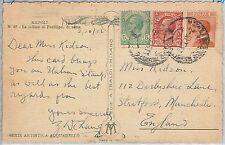 53980 - ITALIA REGNO - Storia Postale: CARTOLINA con AFFRANCATURA MISTA - 1926