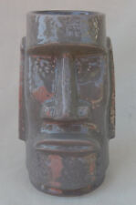 Gray Moai Tiki Farm Mug Dated 2001 NEW OLD STOCK!