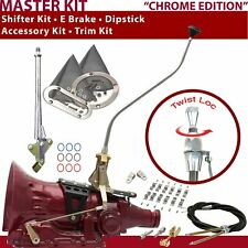 C4 Shifter Kit 23 Swan E Brake Cable Clamp Clevis Trim Kit Dipstick For D1F59
