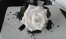WRIST CORSAGE BLACK & WHITE ******CRUISE PROM or WEDDING*******